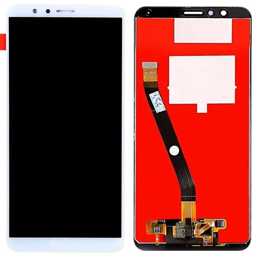 LCD Huawei Honor 7X Dual Sim (BND-L21) + touchscreen White copy AAA