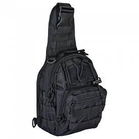 Сумка через плечо для скрытого ношения оружия ONE STRAP TrueGuard черная