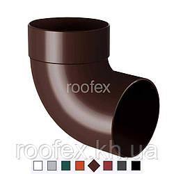 Колено водосточной трубы 87° Rainway 130