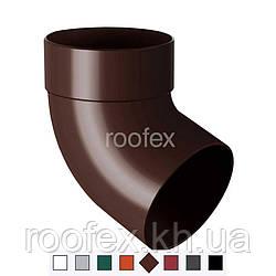Колено водосточной трубы 67 Rainway 130