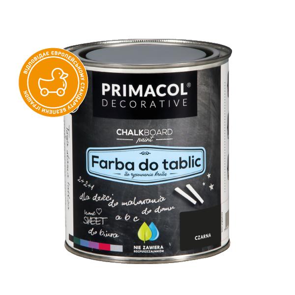 Грифельная краска Primacol Farba Do Tablic 0.75л (все фасовки)
