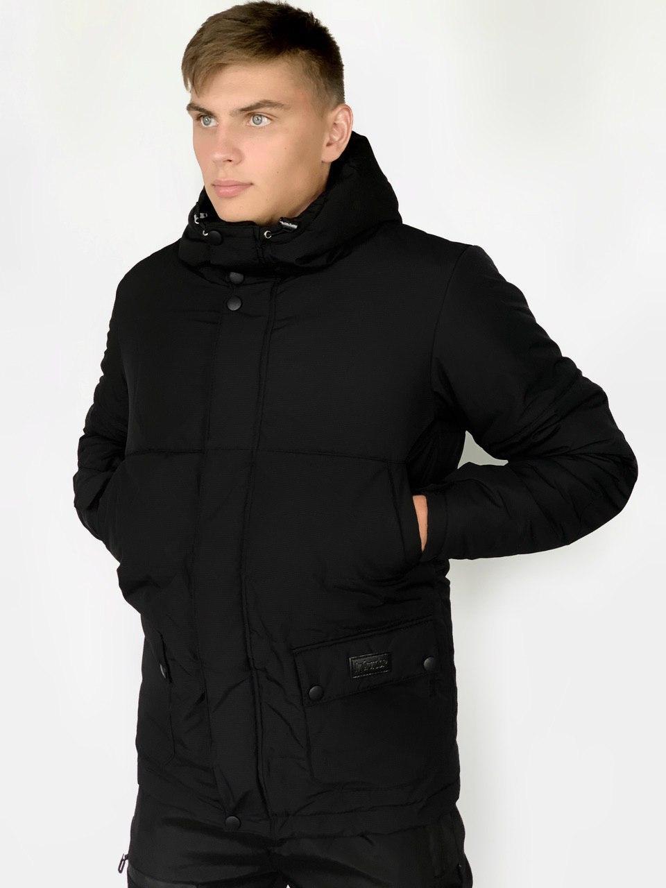 Демисезонная куртка Waterproof Intruder S Черная (1589541372)