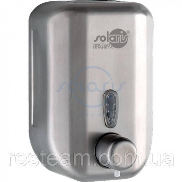 Дозатор ж/мыла 0,7 л нерж ст. мат CJ-1008-S