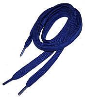 Шнурки в кроссовки плоские 120см Синий