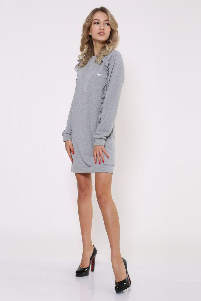 Платье 112R475 цвет Серый