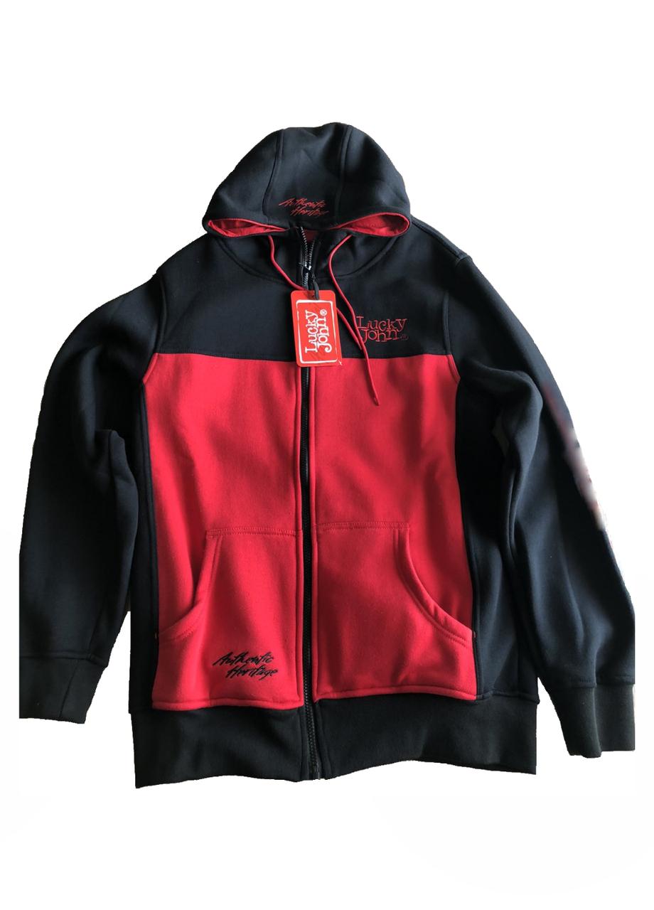 Куртка Lucky John L Черный (AM-230-L)