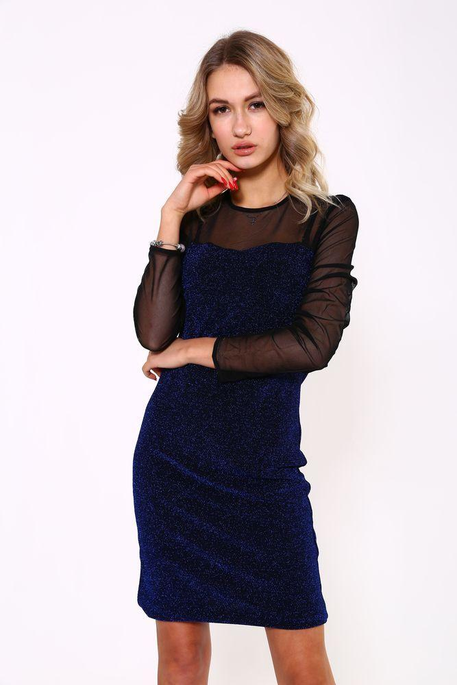 Платье женское 115R312 цвет Электрик