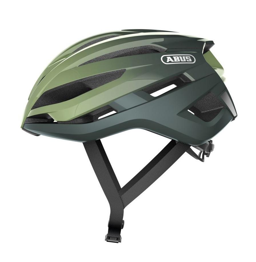Шолом велосипедний ABUS StormChaser M 52-58 Opal Green