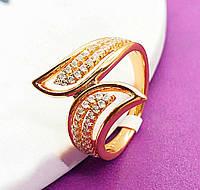 Шикарное кольцо из медицинского золота Xuping