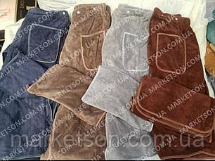 Рушник халат для сауни+рушник, фото 3