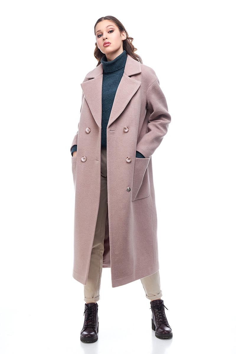 Женское пальто ORIGA Кимберли 54 Мокко (02KMBL-мокко54)