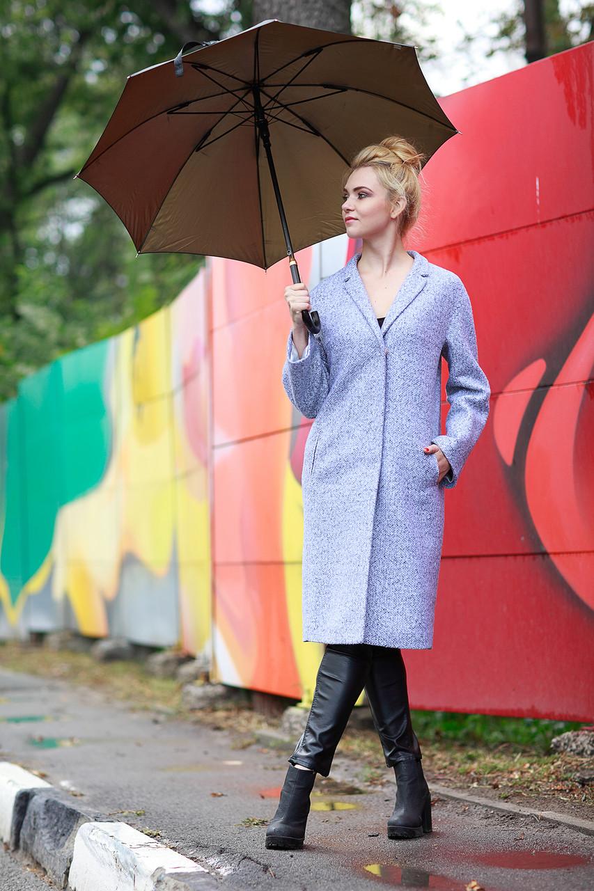 Женское пальто ORIGA Манхеттен 50 Светло-серый (02MNCH-св-сер50)