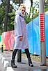 Женское пальто ORIGA Манхеттен 50 Светло-серый (02MNCH-св-сер50), фото 3