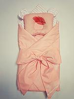 Конверт одеяльце для новорожденного двустороннее