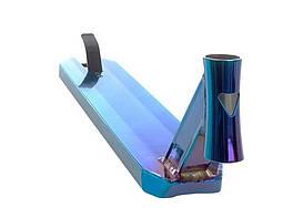 Дека трюкового самоката Anaquda V3 530 Deck BlueChrome AS120743