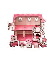 Ляльковий будинок  з підсвічуванням ТМ Goodplay, Україна