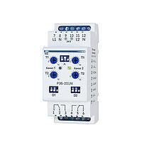 РЭВ-201М Многофункциональное двухканальное реле времени