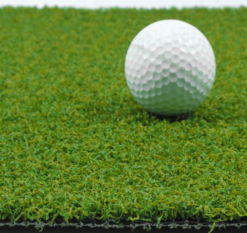 Искусственная трава для тенниса 12 мм ширина 2 м CCGrass Green E 12 (исуственный газон в рулонах)