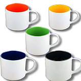 Печать на цветной чашке 500мл, фото 2