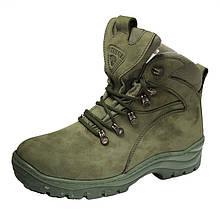 Тактичні черевики ПАТРІОТ ОЛИВА зима Тинсулей