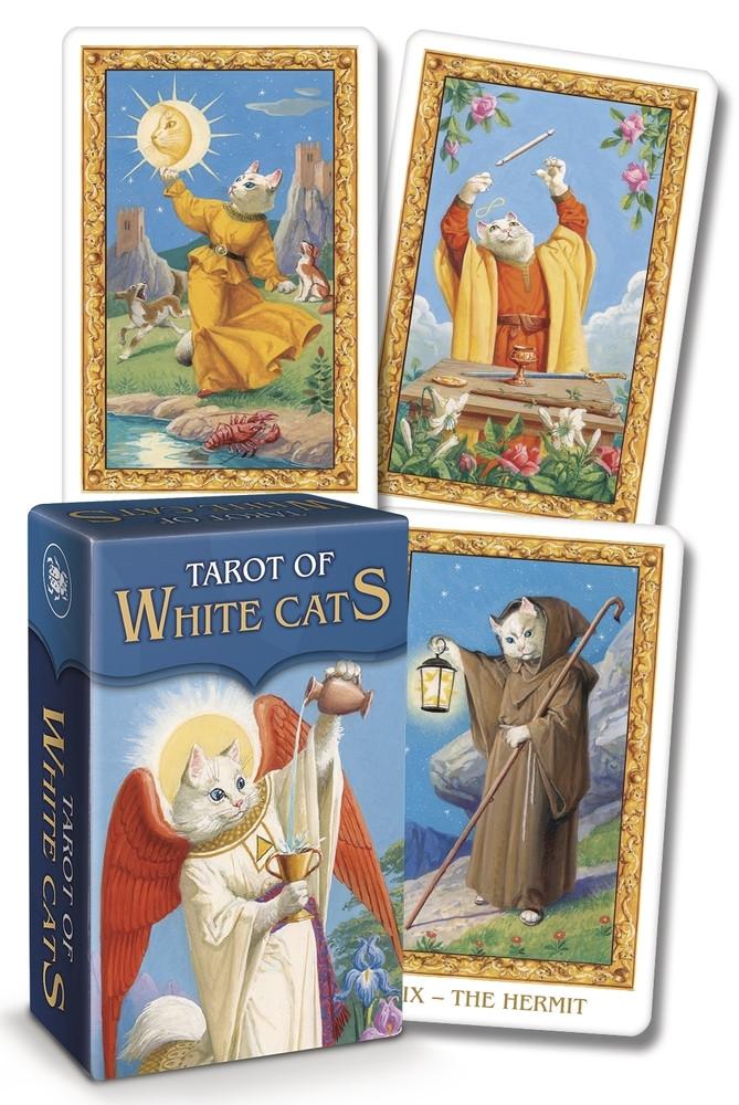 Tarot of White Cats mini/ Таро Белых Кошек мини