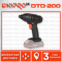 Аккумуляторный винтовёрт Dnipro-M DTD-200