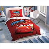 ТАС  Cars Shiny Road clow постельное бельё люминосцентное, фото 2