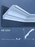Карниз потолочный Decolux  2000Х92Х92 дюрополимер AB-1250 белый