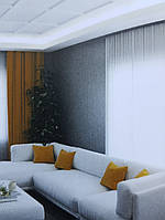 Карниз потолочный Decolux с подсветкой LED  2000Х48Х31 дюрополимер ACL-006 белый