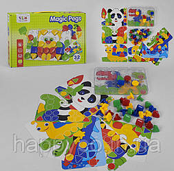 Мозайка для малышей 32 детали, Magic Pegs