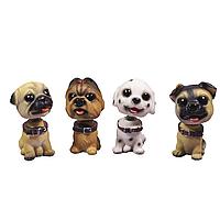 Набор статуэток Собаки с качающейся головой