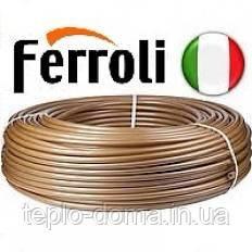 Труба для теплого пола 16х2мм Ferolli (Италия) (БУХТА 100м)