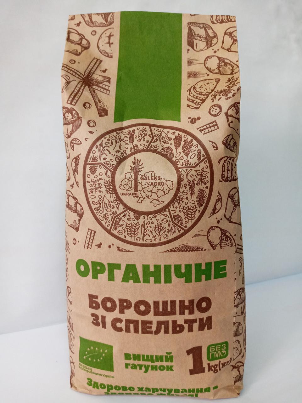 Мука из спельты в/с ОРГАНИЧЕСКАЯ 1 кг