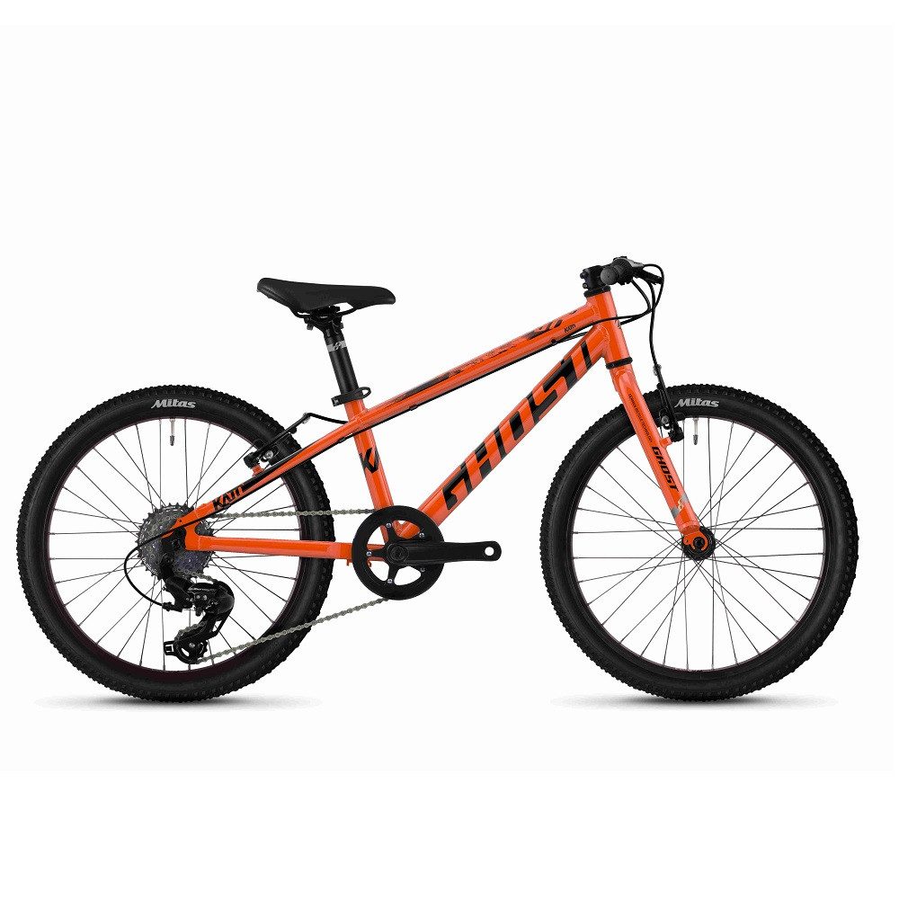 """Велосипед Ghost Kato R1.0 20"""", оранжево- черный, 2020"""