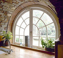 Нестандартні металопластикові конструкції вікон і дверей