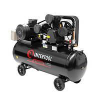 Компресор 200 л, 7,5 кВт, 380 В, 8 атм, 1050 л/хв. 3 циліндра INTERTOOL PT-0040