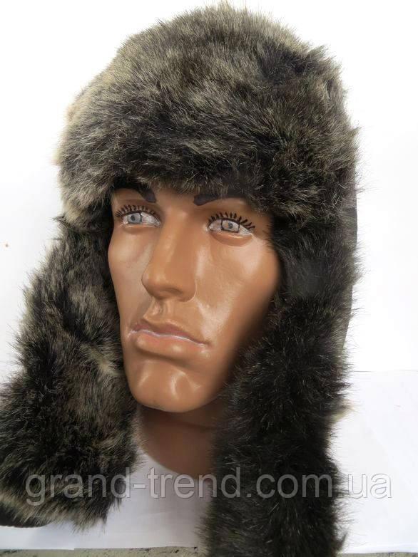 Стильная зимняя шапка ушанка мужская - интернет магазин GRAND-TREND в Хмельницком