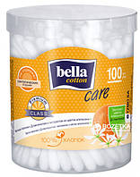 Палочки гигиенические Bella Coton Care с Д-пантенолом и вытяжкой из цветка апельсина 100 шт