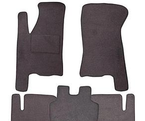 Ворсовые коврики для Seat Leon (2010-) Текстильные в салон авто (серые) (StingrayUA.)