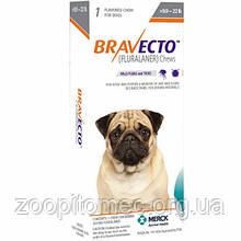Жувальна таблетка BRAVECTO БРАВЕКТО від бліх та кліщів для собак 5-10 кг табл 1