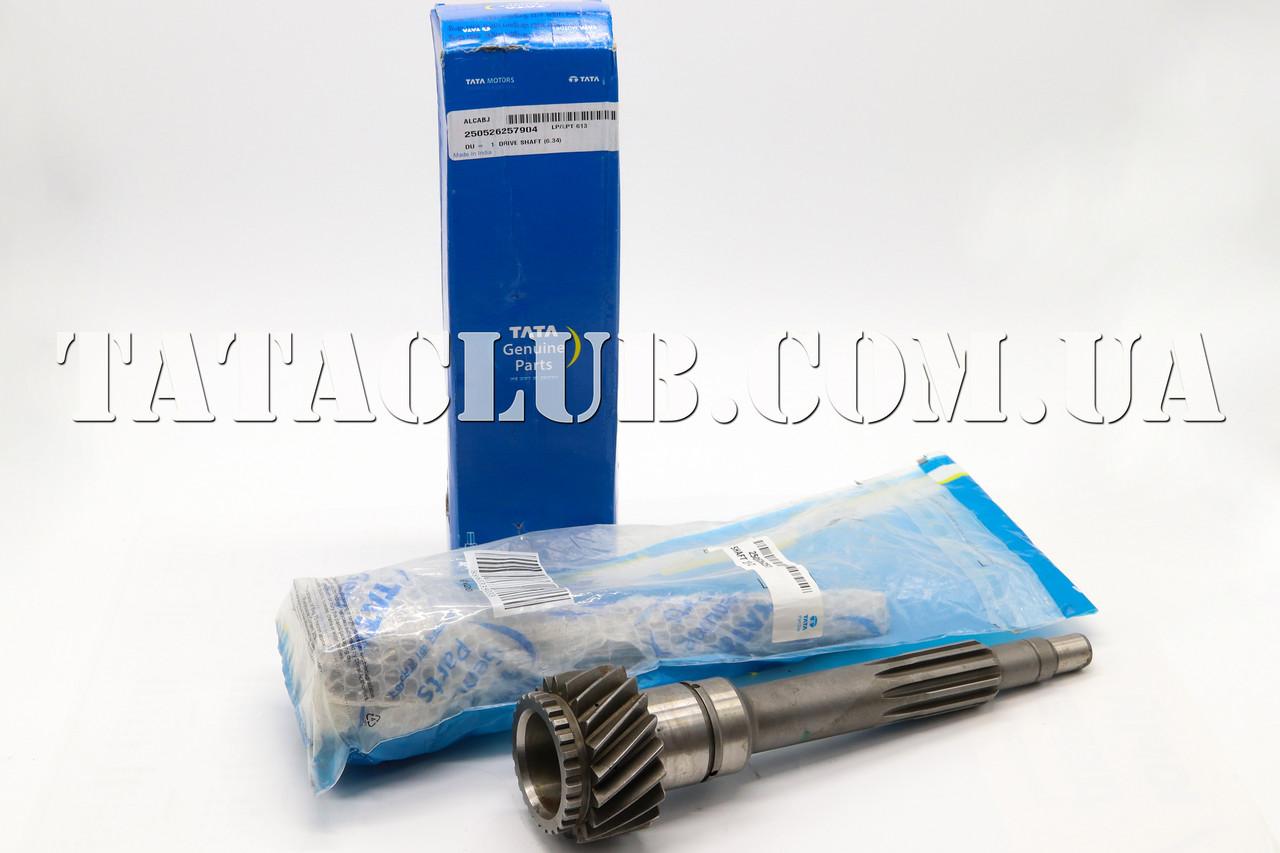 Вал первичный КПП(6.34) 19Z(КПП GBS-40) (613 EII,613 EIII) TATA Motors