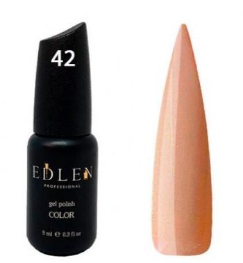 Гель-лак EDLEN №42 (молочный с микроблеском), 9 мл