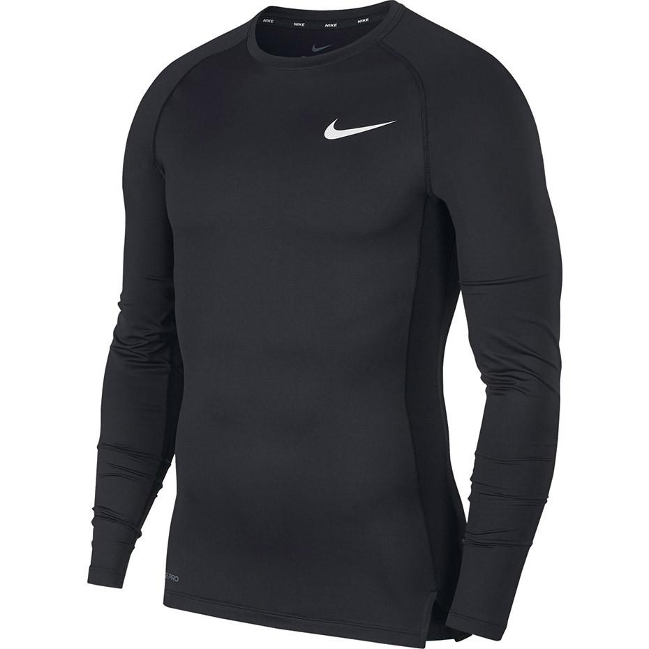Термобелье мужское Nike Pro Tight-Fit Longsleeve Top BV5588-010 Черный