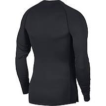 Термобелье мужское Nike Pro Tight-Fit Longsleeve Top BV5588-010 Черный, фото 3