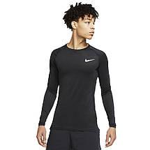 Термобелье мужское Nike Pro Tight-Fit Longsleeve Top BV5588-010 Черный, фото 2