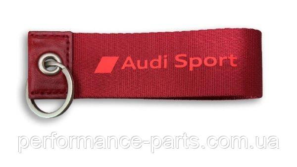 Брелок Audi Sport Key Ring Red - MY2020 3182000300