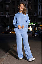 Женский вязаный костюм Ева свободного кроя с капюшоном PR-27380, фото 2