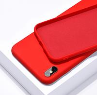 Чехол Silicone Case Full для iPhone XS Max Red