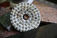 Шлифовальные алмазные КРУГИ диаметром 160мм под гранит, габбро, базальт (ёрш, ёршики, пупырышки) СЭЛТИНГ®