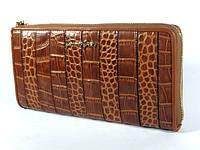 Женский кожаный клатч-портмоне (кошелек на молнии) Jimmy Joey, фото 1